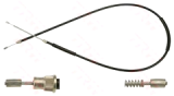 Hanbrakes cables Renault 4