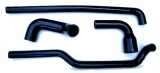 Silicone hoses and kit of silicone hoses for Renault R4 4L with Billancourt 747, 782 or 845cc engine.