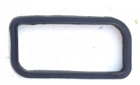 Rubber seal for turn signal lens for Renault R4 4L, latest model, new, right side.