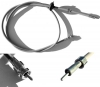 Speedo cable for Renault R4 4L with Billancourt engine from 1962 to 08.1973.