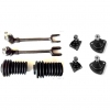 Kit ball joints, steering rods and suspension and rack bellows for Renault R4 4L from 1968 until 1978