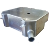 Fuel tank for Renault R4 4L aluminum. Plug and play.