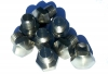 Set of  5 hubcap screws for Renault R4 4L strictly compliant with the origin. Stainless steel.