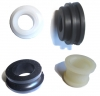 Complete kit rubbers control gearbox lever for Renault R4 4L.