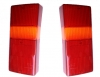 Taillight lens kit for Renault R4 4L F6 and Rodeo van.