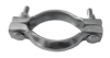 Clamp for exhaust manifold for Renault Estafette or Renault R4 4L.