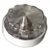 Ceiling light for Renault R4 4L or Renault Estafette. White.